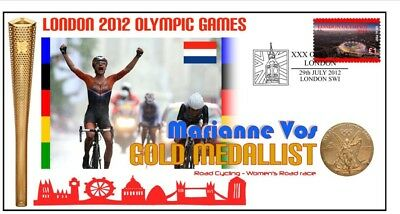 MARIANNE VOS 2012 NETHERLANDS OLYMPIC CYCLING GOLD Cv 2