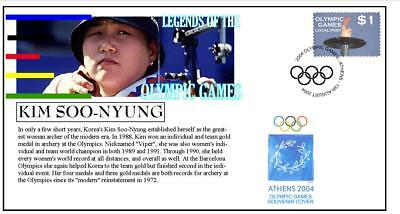 Olympic Games Legends Cover, Kim Soo-Nyung Archery