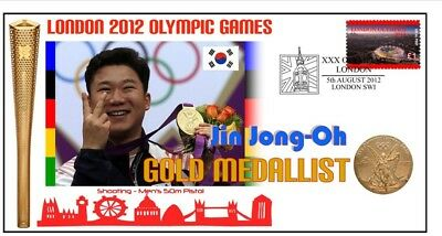 Jin Jong Oh 2012 Olympic South Korea Gold Medal Cover