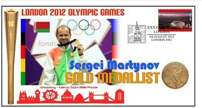 Sergei Martynov 2012 Olympic Shooting Gold Medal Cover