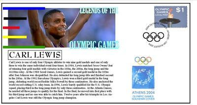 Olympic Games Legends Cover, Carl Lewis Athletics