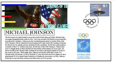OLYMPIC GAMES LEGENDS COVER, MICHAEL JOHNSON 400m