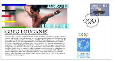 Olympic Games Legends Cover, Greg Louganis Diving