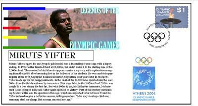 OLYMPIC GAMES LEGENDS COVER, MIRUTA YIFTER 10000m
