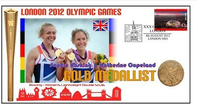Hoskins & Copeland 2012 Olympic Rowing Gold Medal Cover