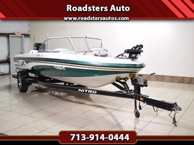 2007 Nitro 288 Sport-Fish And Ski- 150 Hp Mercury Pro Xs- Low Hours-With Trailer