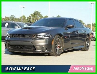 2017 Dodge Charger R/T Scat Pack 2017 R/T Scat Pack Used Certified 6.4L V8 16V Automatic Rear Wheel Drive Sedan