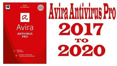 Avira Antivirus Pro 2017, Unlimited Devices, 2 Years Licence| AUS STOCK!