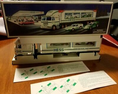 Hess Toys - 1997 Toy Truck and Racers