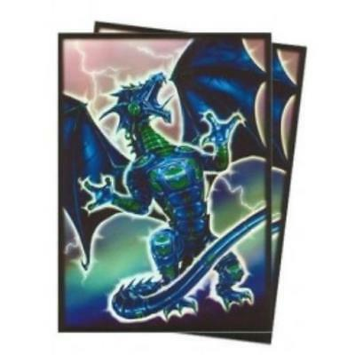 Max Protection Card Protection Neo Sleeves - Robo Dragon (Blue) (50) MINT