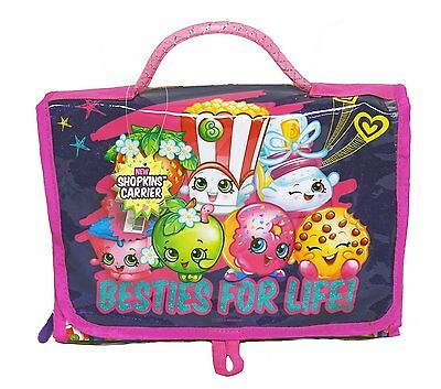 "Party Favors Shopkins Besties For Life! 11"" Purple & Pink Carrier HandBag"