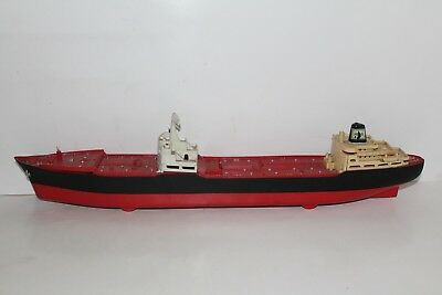 Used 1966 Marx Hess Toy Truck Voyager Ship Boat No Box Lights Work For Parts