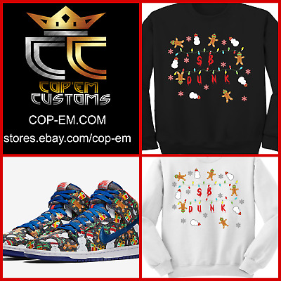 f48fa3afaf24 EXCLUSIVE SWEATER to match Concepts x NIKE SB Dunk Pro High Ugly Christmas  2017