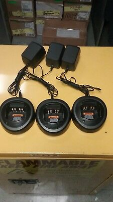 !MOTOROLA Battery Charger HTN9000C***Lot of 3!!***