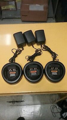 !MOTOROLA Battery Charger HTN9000B***Lot of 3!!***