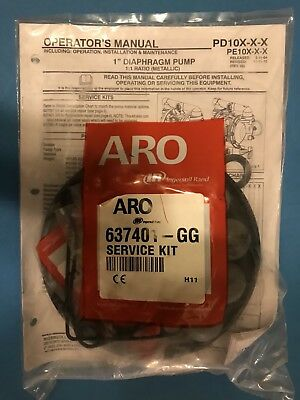"ARO 637401-GG 1"" Pump Repair Kit"