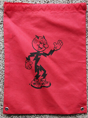 Reddy Kilowatt Electric Charge Company Man Small Tote Bag Backpack