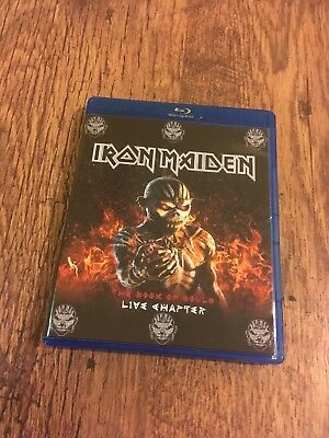 Iron Maiden Concert Blu Ray Live Chapter The Book Of Souls Tour PAL NTSC