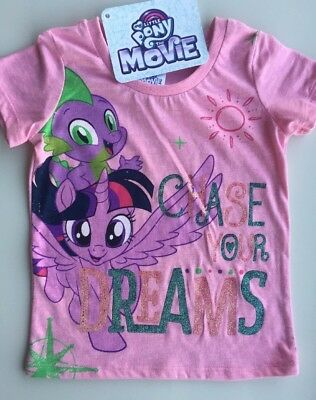 My Little Pony The Movie Licensed Cute Print T.shirt Age 3 BNWT