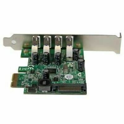 4 Port PCI Express PCIe USB 3.0 Card