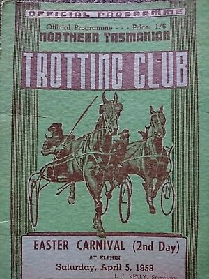 1958 Easter Cup Race Book