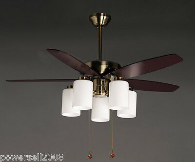 New Fashion European Antique 42 Inches Decoration for resta Ceiling Fans + Lamps