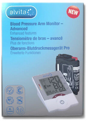 Alvita Blood Pressure Arm Monitor Advanced (New)