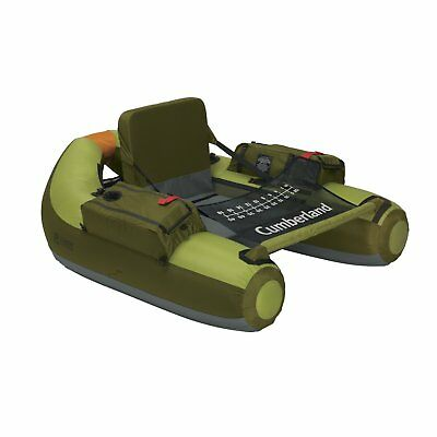 OpenBox Classic Accessories Cumberland Inflatable Fishing Float Tube With Backpa