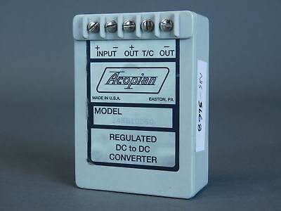 Acopian Regulated DC to DC  Converter Power Supply 24EB10D60 - NEW Surplus!