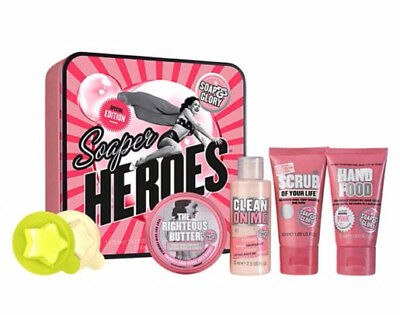 Soap and Glory Soaper Heroes Special Edition Christmas Gift Set-NEW