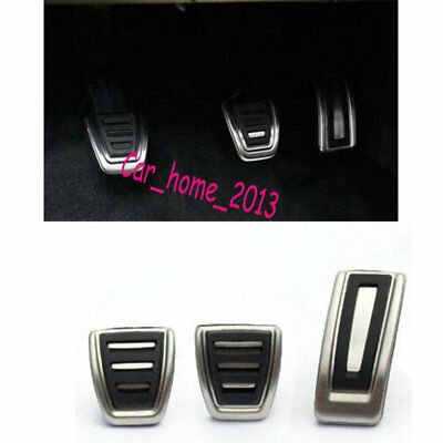 Car Stainless Steel Gas Brake Clutch Pedal cover for VW GOLF 7 MK7