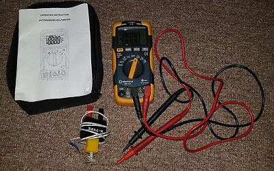 Digitech Multimeter Qm 1323 And Accessories