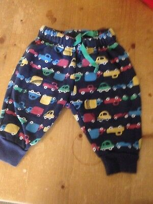 frugi boys blue trousers 3-6 months