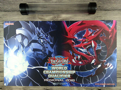 2018 Obelisk the Tormentor & Slifer the Sky Dragon TCG Duel Battlefield playmat
