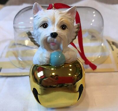 Westie (West Highland White Terrier) Angel Christmas Ornament- NEW