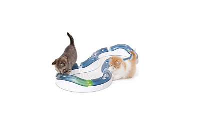 Catit Design Senses Super Roller Circuit Cat Toy Play Kitten Ball Chase Game