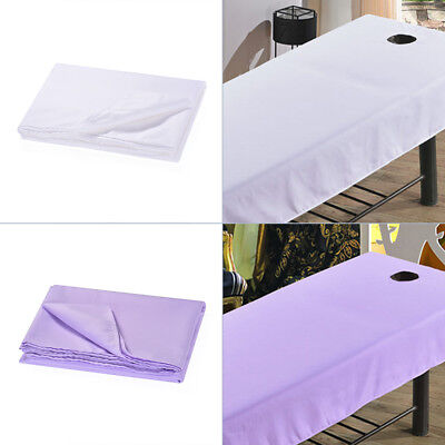 Massage Table Cover Beauty SPA Treatment Bed Elastic Sheet with Face Breath Hole