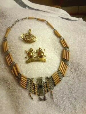 Lot Of Vintage Ethnic Ancient Egyptian Style And Museum Jewelry, Mma, Etc.