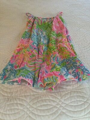 Girls Lilly Pulitzer Romper, Size XL 12-14