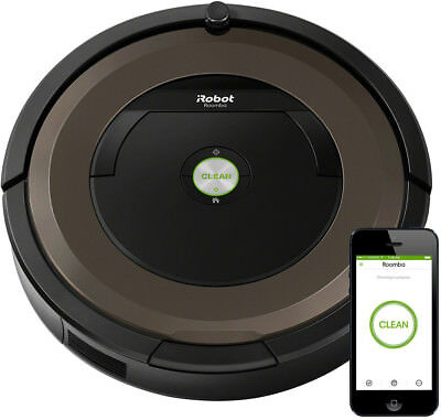 New iRobot - Roomba 890 - Wi-Fi     Connected Robot Vacuum from Bing Lee