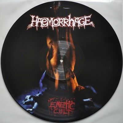 Haemorrhage - Emetic Cult Picture Lp dead infection hemdale carcass necrony