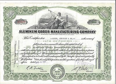 Stk-Aluminum Goods Manu. Co.(MIRRO) 1955 Manitowoc. WI See images #5-8