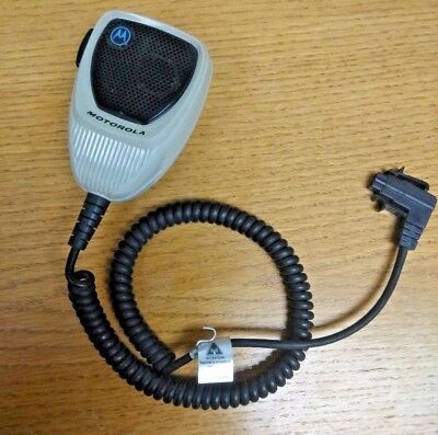 Motorola Standard Palm 2 way Radio Microphone HMN1080A 6 pin for Astro Specctra