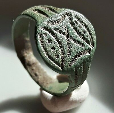 X Legion ** Bronze Roman Ring Engraved X  ** Legionary Ring **