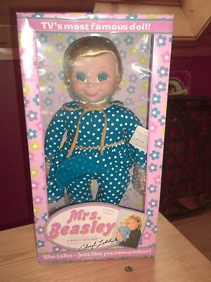 "Mrs. Beasley Vintage Collectible doll with voice of Cheryl Ladd. 20"" tall."