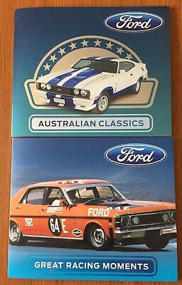 Ford Collectable Australian Classics & Great Racing Moment Stamp Pack Collection
