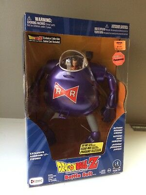 Dragon Ball Z 11 inch tall Battle Suit with Android 17 figure. New, never opened