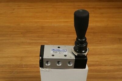 "MettleAir Pneumatic Air Spring Return Switch Toggle Valve 4 Way 2 Pos 1/8"" NPT"