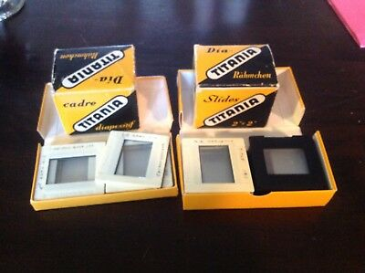 Titania Glass Slides 2x2 40 New  Plus (about 20 Used)
