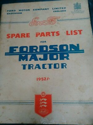 tractor manual Fordson MajorTractor